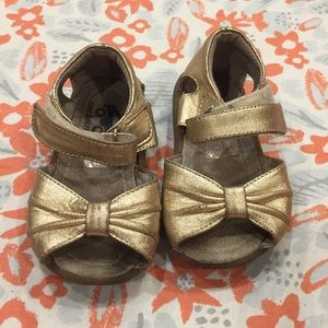See Kai Run Gold Aviana Sandals